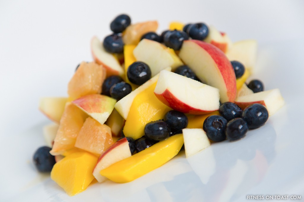 SUPER FRUIT SALAD  http://fitnessontoast.com/2012/12/27/my-kind-of-dessert/