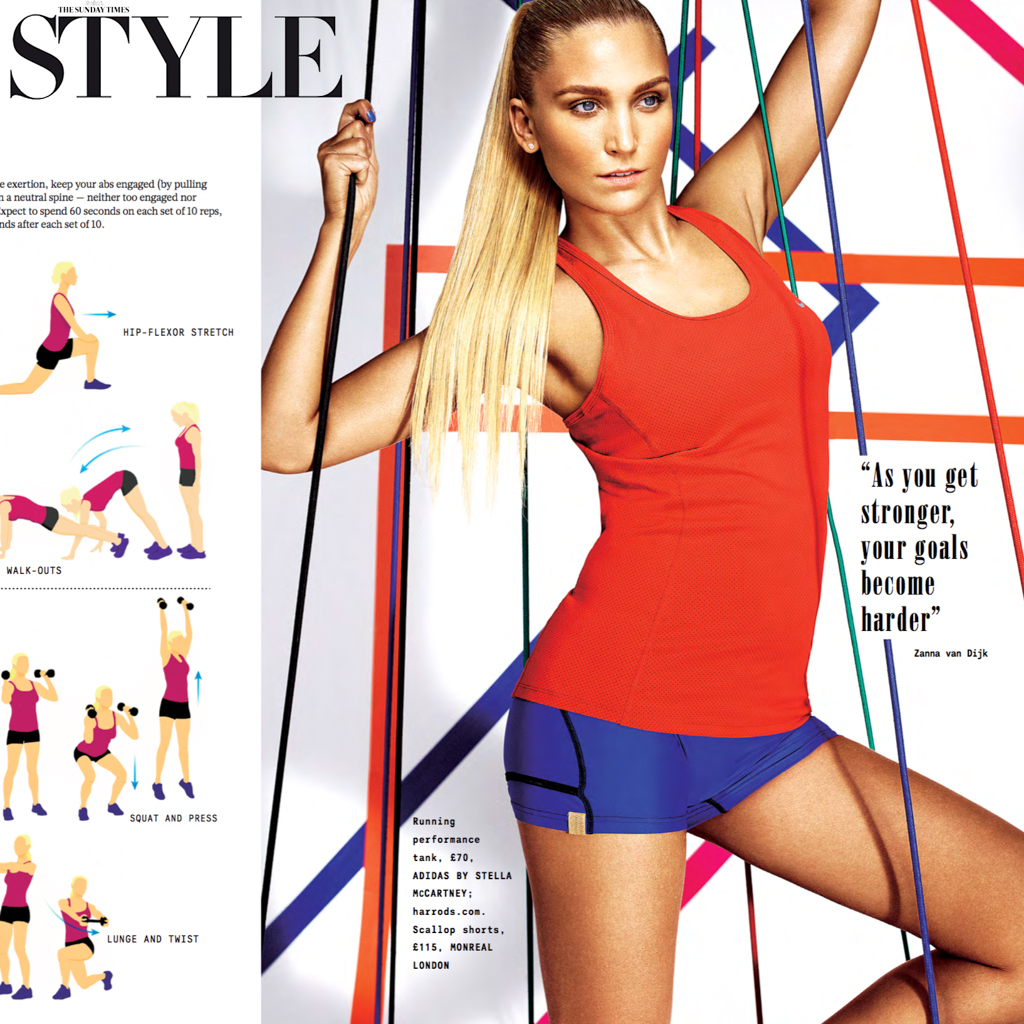 SUNDAY TIMES STYLE - 3rd JAN 2016 FEATURE