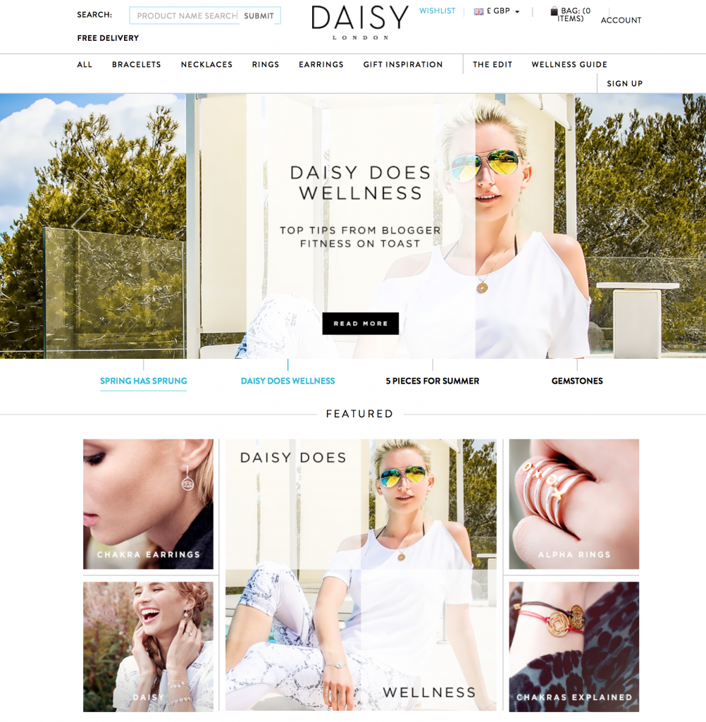 DAISY JEWELLERY - APRIL 2015