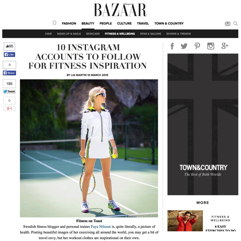 HARPERS BAZAAR UK - 5th MAR 2015'