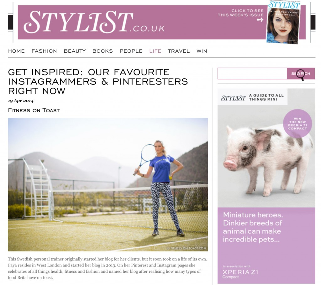 STYLIST MAGAZINE ONLINE - 14th APR 2014