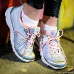 Weil Rhythm Shoes in Silver / Coral  http://fitnessontoast.com/2013/05/25/footsie/