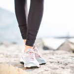 Weil Rhythm Shoes in Silver / Coralhttp://fitnessontoast.com/2013/05/25/footsie/