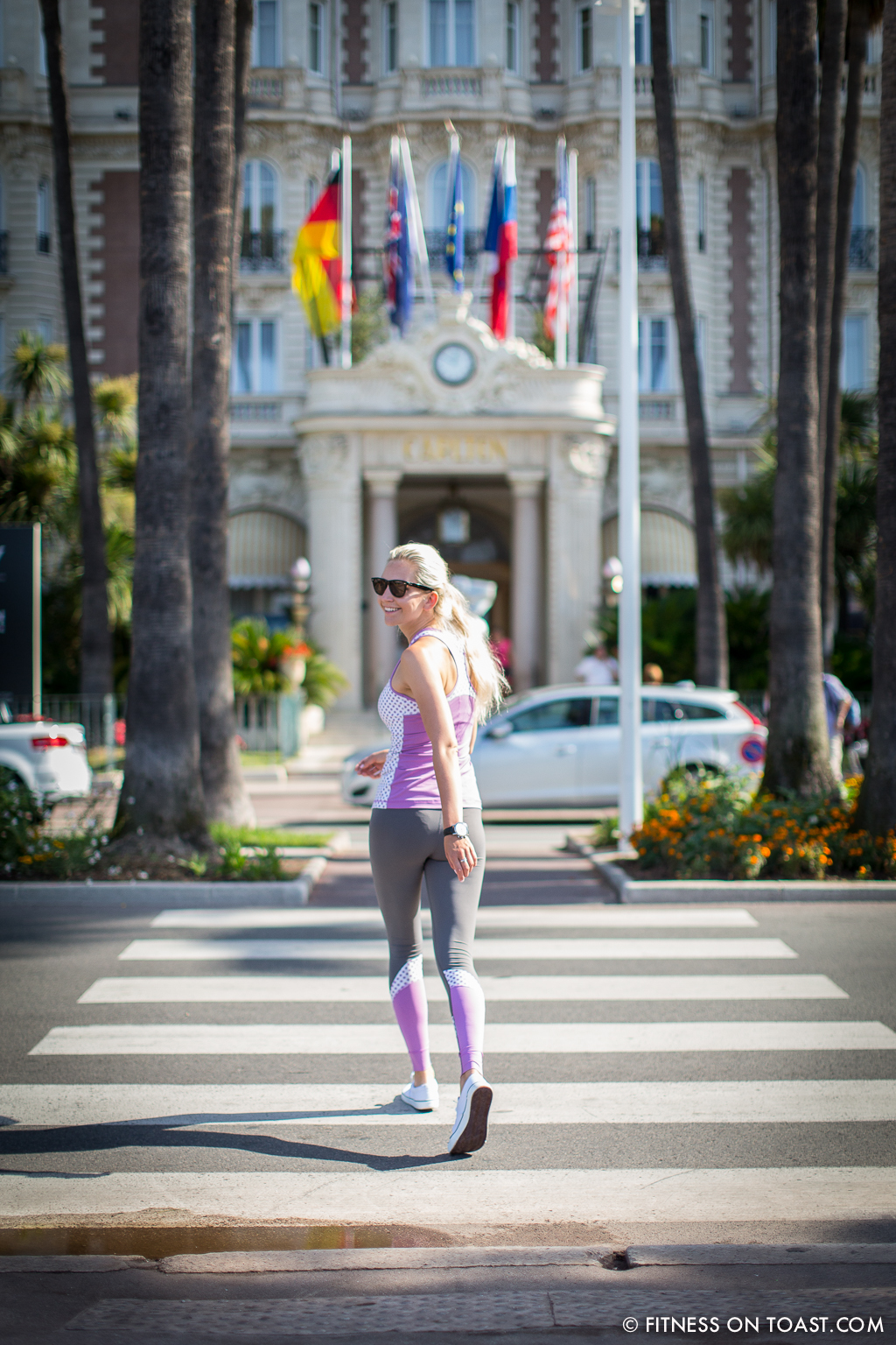 Vevie Hertford Cannes La Croisette Run Fitness On Toast Health Fashion Running Blog Faya -14