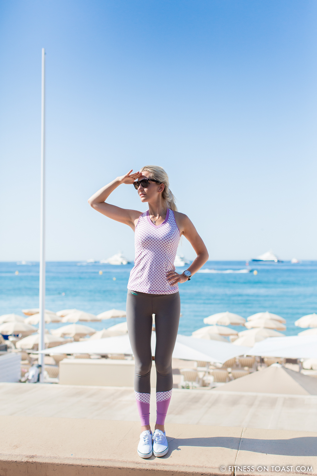 Vevie Hertford Cannes La Croisette Run Fitness On Toast Health Fashion Running Blog Faya -15