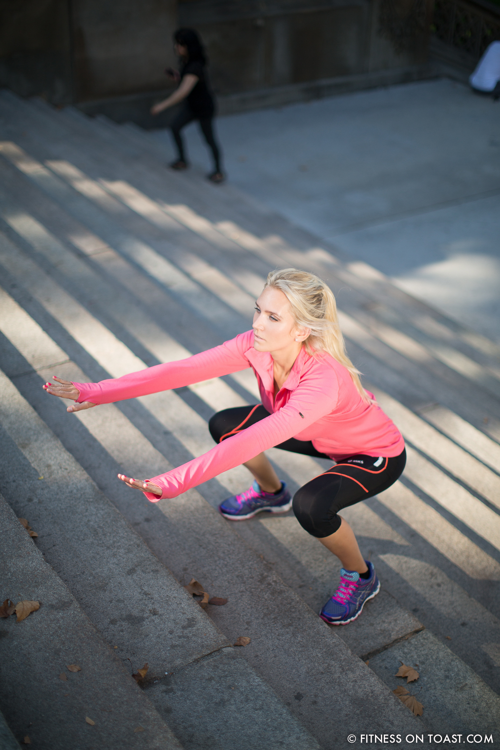 Asics New York Central Park Fitness On Toast Faya Blog Running Training Stretching Women Routine-7