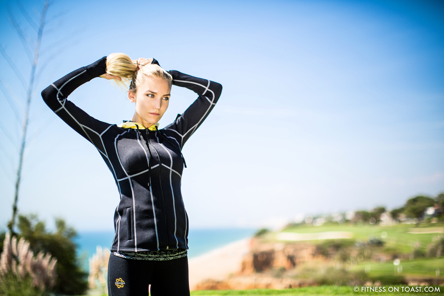 Portugal Algarve Zaggora Running Sports Fitness Girl Faya Fitness On Toast Run Val De Lobo Royal Golf Course Blog-4