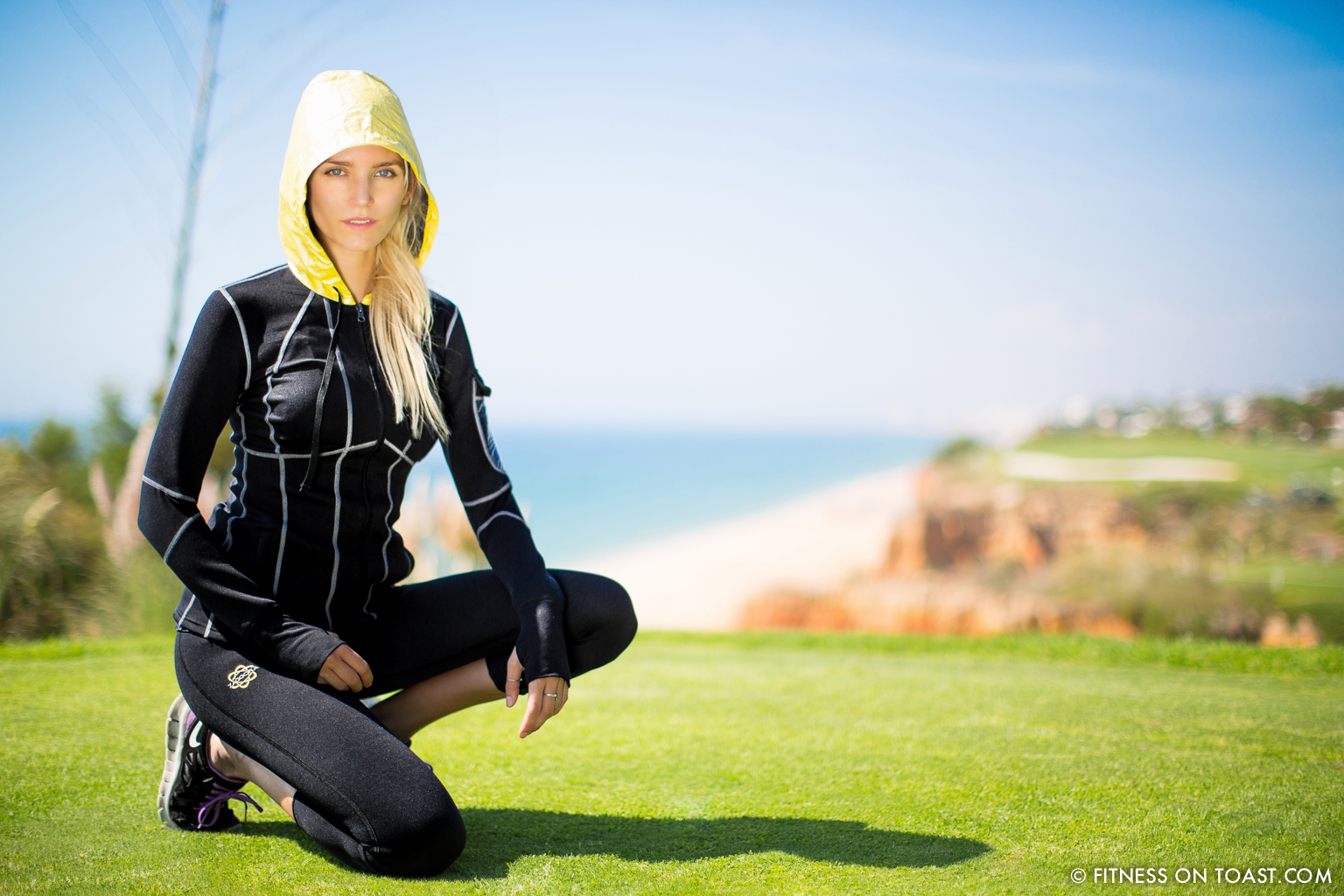 Portugal Algarve Zaggora Running Sports Fitness Girl Faya Fitness On Toast Run Val De Lobo Royal Golf Course Blog-5