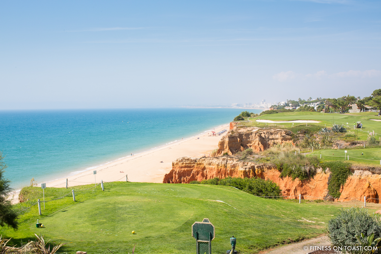 Portugal Algarve Zaggora Running Sports Fitness Girl Faya Fitness On Toast Run Val De Lobo Royal Golf Course Blog-9