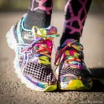 Wearing: Asics 'Gel-noosa Tri'  shoes  http://fitnessontoast.com/2013/11/17/7-top-reasons-why-celebs-deadlift/