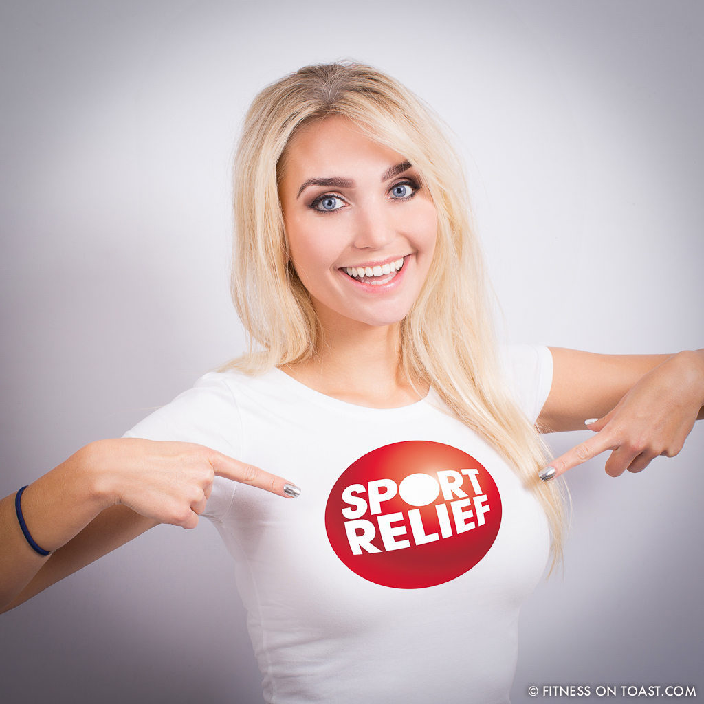 Faya Fitness On Toast Sport Relief 2014 Comic Relief Campaign Promo 2014 Games SQUARE