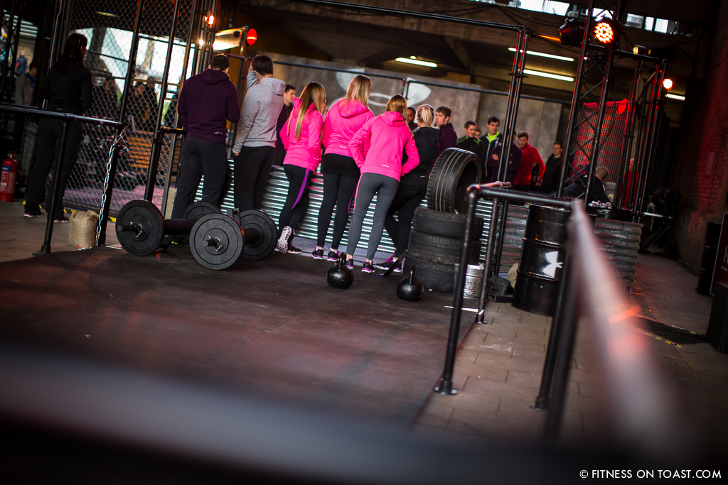 Fitness On Toast Faya Under Armour Armor Gym Southwark Bridge London Pop Up Exercise Temporary Stations Sledge Functional Compound-8