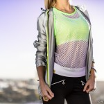 JACKET: Nike 'All Over Flash' Women's Running Jacket SPORTS BRA: Sweaty Betty 'Stamina' Sports Bra in Lime Green TOP: Monreal wide-mesh cotton sports top with Lime Green trim  http://fitnessontoast.com/2014/01/12/my-grazia-ss14-gym-outfit-details/