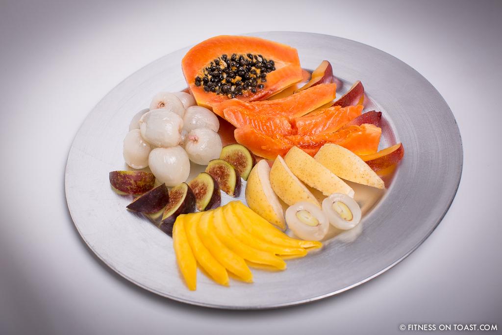 Fitness On Toast Faya Blog Exotic Fruit Salad Nutrition Healthy Low Calorie Easy Recipe Nutritious Tasty Treat Dessert Mango Papaya Lychee Nectarine Fig