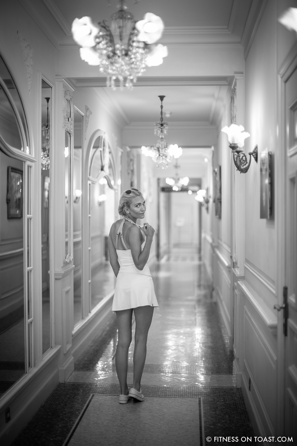 Fitness On Toast Faya Blog Travel Hotel Hermitage Monreal Monte Carlo Sports Apparel Tennis Dress Post-5