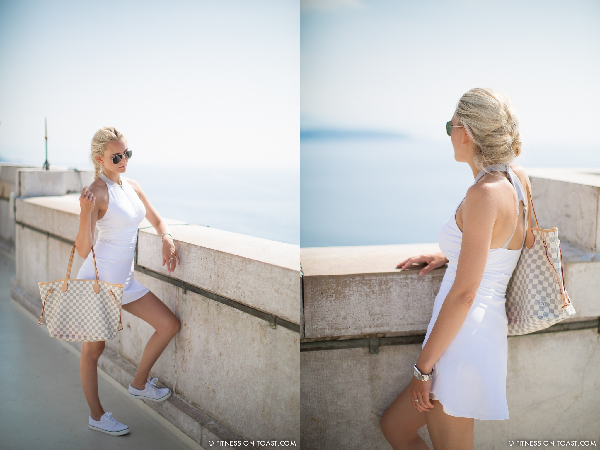 Fitness On Toast Faya Blog Travel Hotel Hermitage Monreal Monte Carlo Sports Apparel Tennis Dress Post-COMBO1