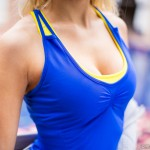 STRIDERS EDGE: ENGINEERED COMPRESSION BRA IN FRESH YELLOW, EC-MAP CROSS-BACK IN EMERALD BLUE  http://fitnessontoast.com/2014/03/12/the-benefits-of-hiking/