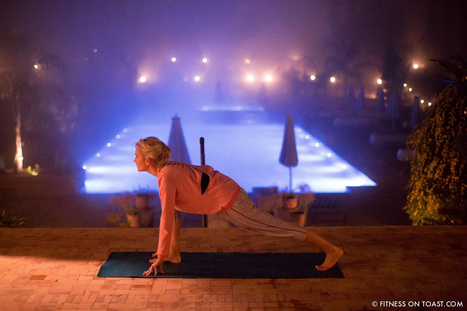 Fitness On Toast Faya Blog Yoga Sweaty Betty SS14 Retreat Sun Salutation Moon Kasbah Tamadot Trip Morocco Virgin Training Exercise Relax Routine-2