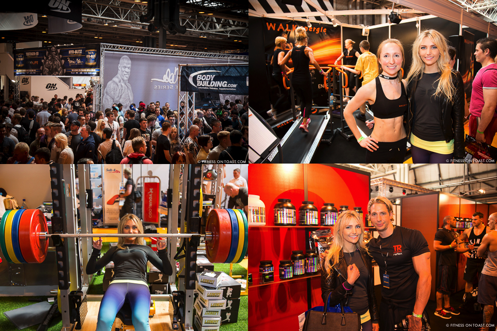 Fitness On Toast Faya FitPro Expo Convention Fit Healthy Inspiration Motivation Workout Gym Health Healthy