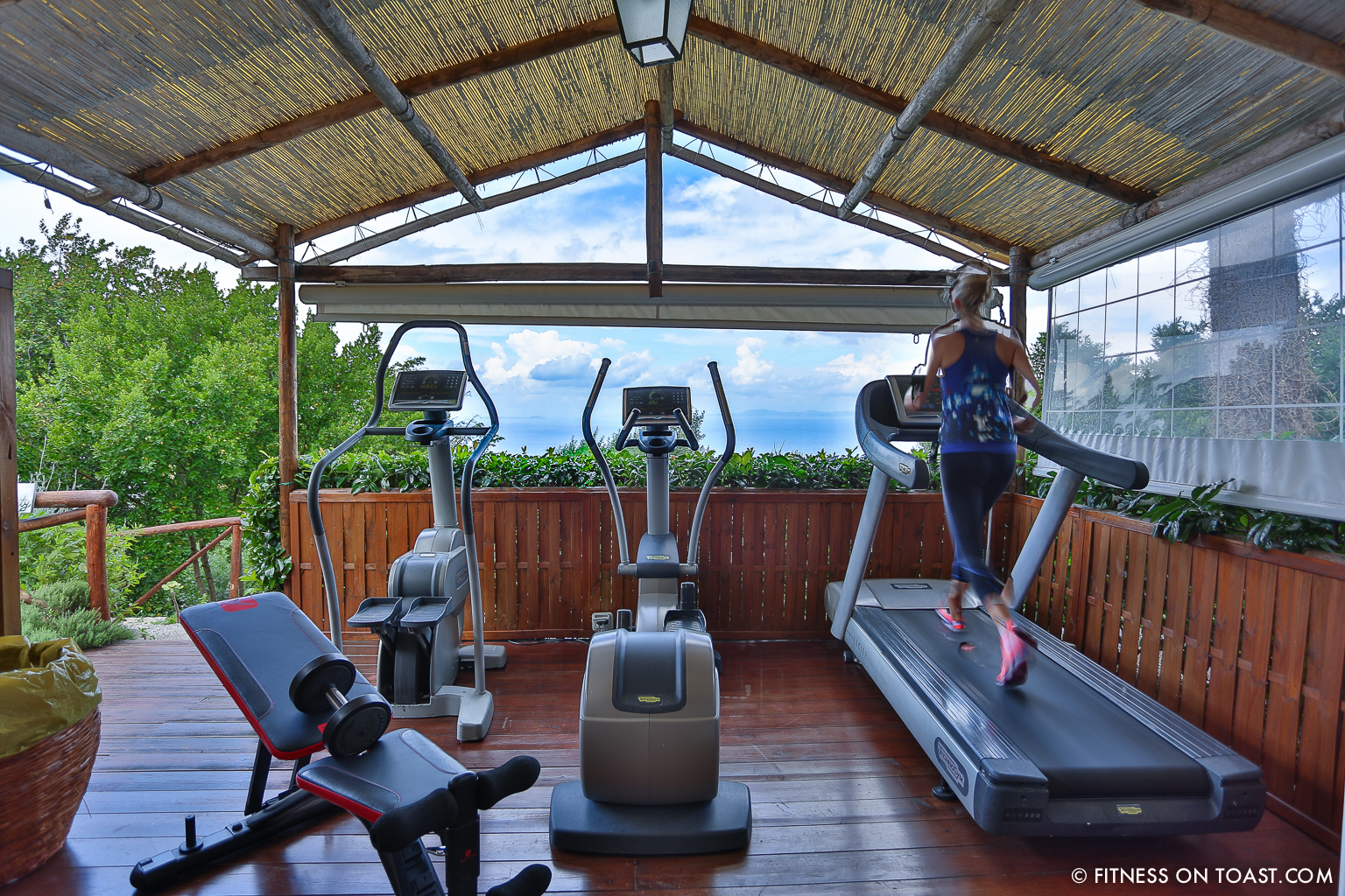 Fitness On Toast Faya Blog Girl Healthy Active Training Gym Workout Escape Break Holiday Travel Luxury Hotel Caesar Augustus Italy Capri Review What To Do Stay Health-29