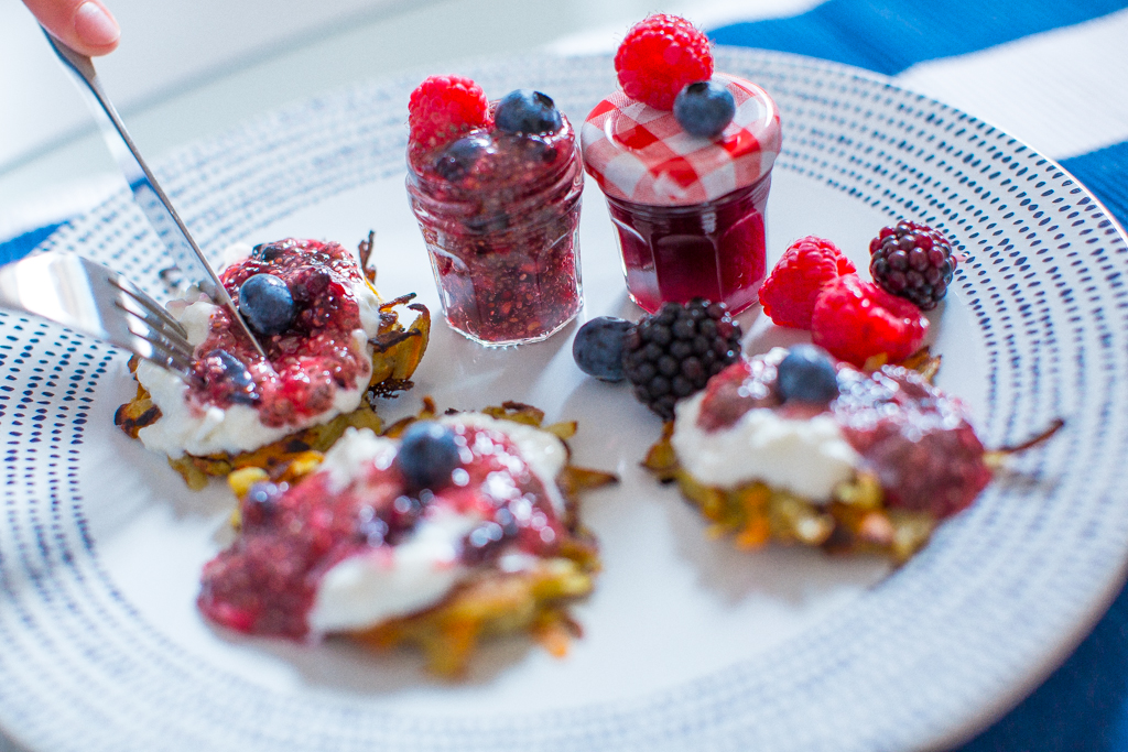 Fitness On Toast Faya Blog Girl Healthy Recipe Workout Nutrition Health Lifestyle Low Fat Sugar Pancakes Breakfast Jam Home made Berries blueberry raspberry summer idea