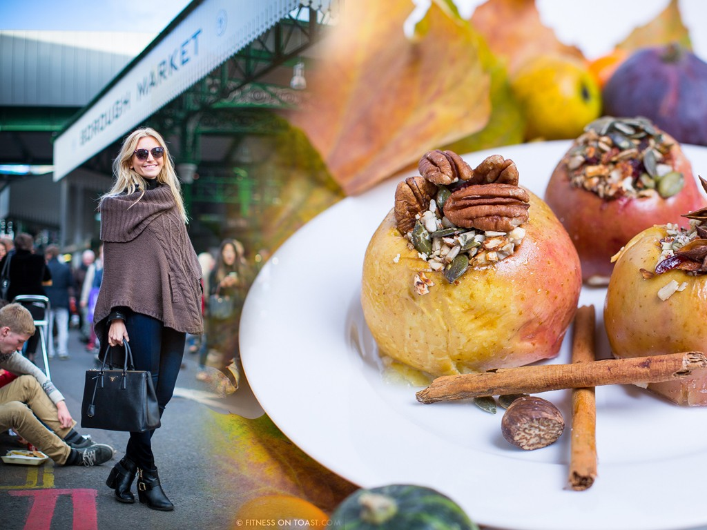 Fitness On Toast Faya Blog Girl Training Healthy Eating Diet Nutrition Tasty Dessert Baked Apple Seeds Borough Market London 1000 Years Recipe Dish - FINAL copy