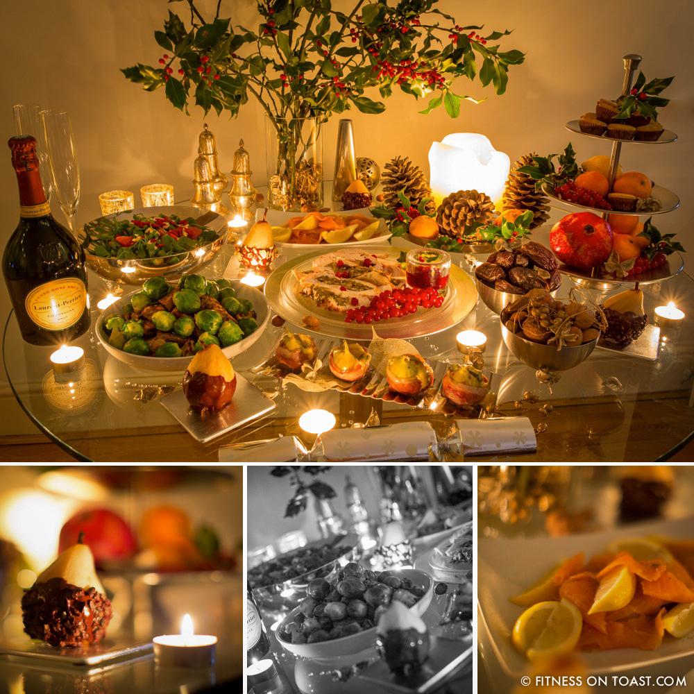 COMPILATION - Fitness On Toast Faya Blog Healthy Christmas Dinner Xmas Feast Meal Turkey Stuffing Salad Salmon Fig Sweet Potato Mince Pie Fruit