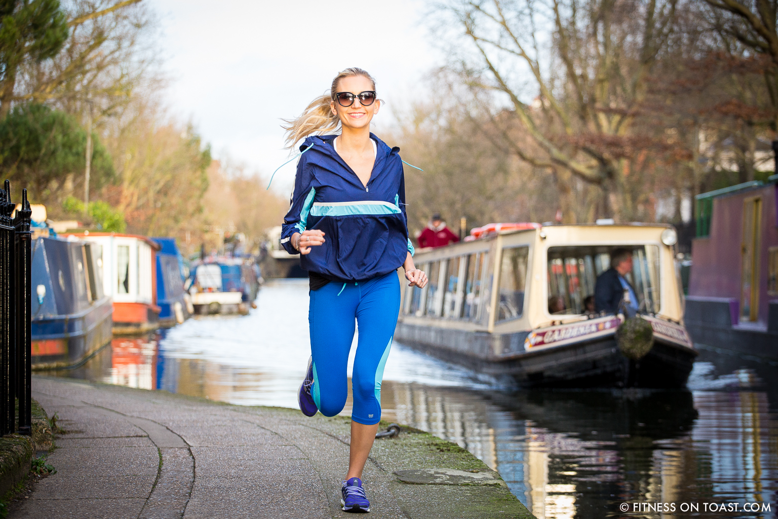Fitness On Toast Faya Blog Girl Healthy Exercise Canal Hiit Sprint Training Workout Idea Forever 21 Activewear London Little Venice Canal Running Run