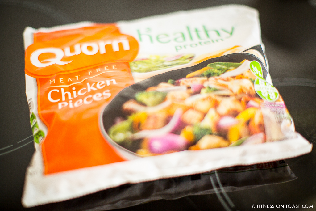 Fitness On Toast Faya Blog Girl Healthy Exercise Nutrition Recipe Quorn Chicken Dish Pieces Calorie Protein Lean Low Fat Diet Detox Tasty-3