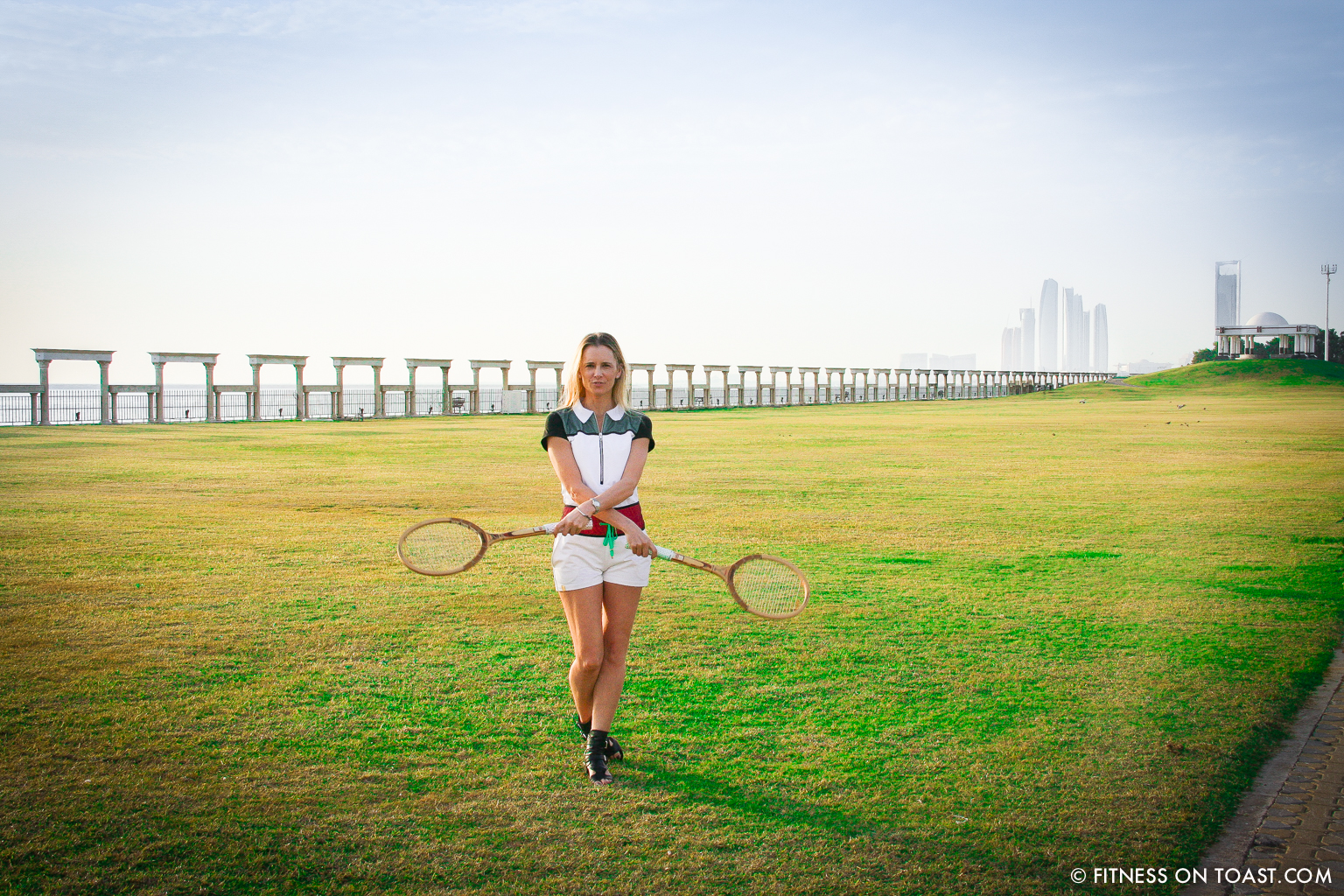 Fitness On Toast Faya Blog Girl Healthy Fit Fashion Travel Luxury Abu Dhabi Monreal OOTD Sheikh Mohammed Tournament Tennis-8