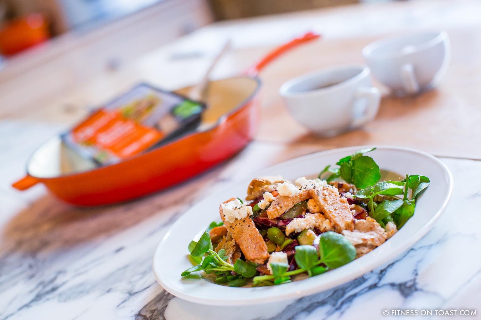Fitness On Toast Faya Blog Girl Healthy Recipe Nutrition Quorn Protein Collaboration Fatoush Salad Main-19