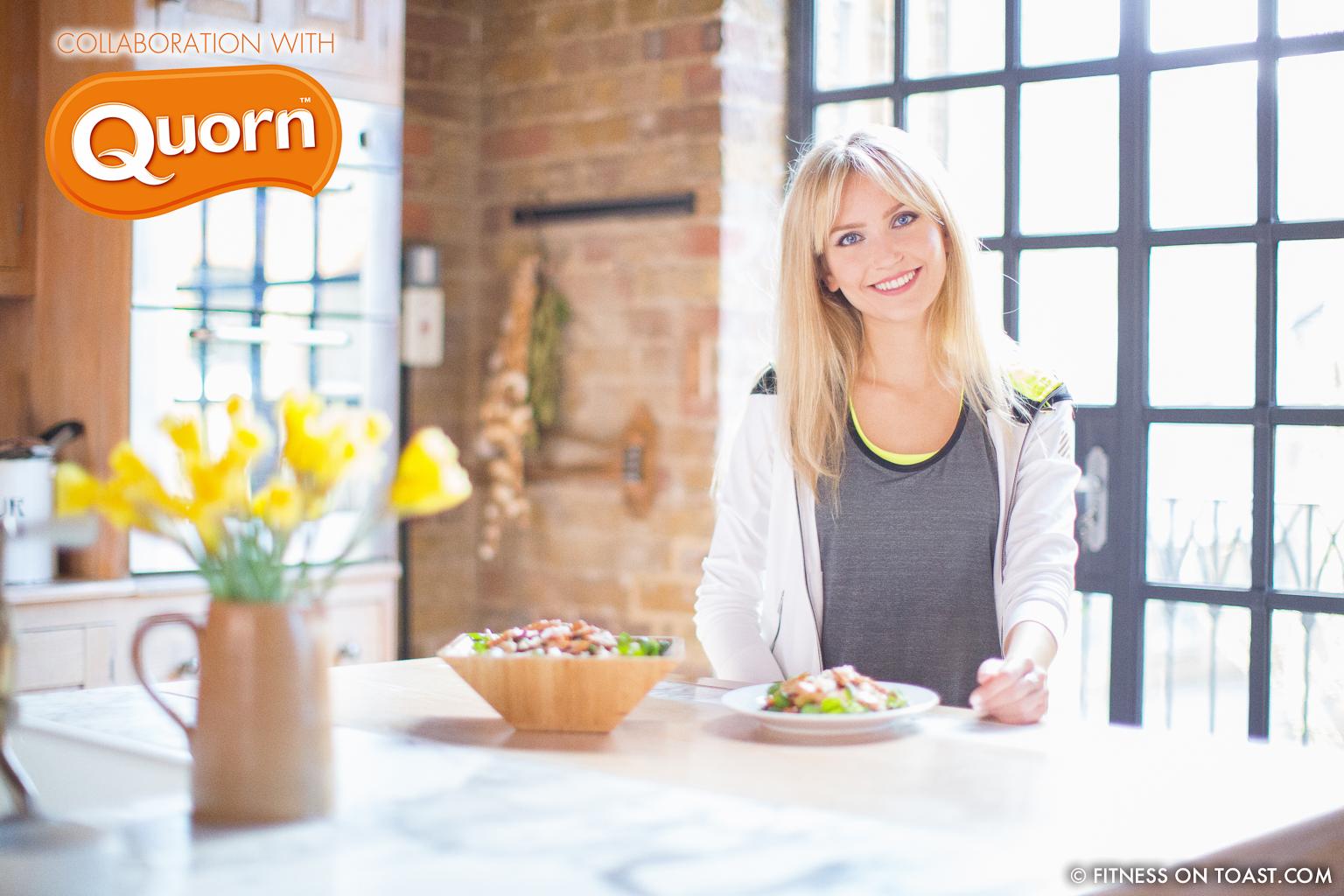 Fitness On Toast Faya Blog Girl Healthy Recipe Nutrition Quorn Protein Collaboration Fatoush Salad Main-21