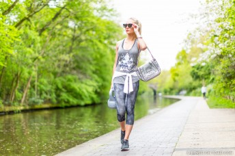 Fitness On Toast Faya Blog Girl Healthy Workout Regents Canal London Kettle Bell Squat Swing Lunge Twist Burpees Old Navy Fashion OOTD Gap Chanel Celine