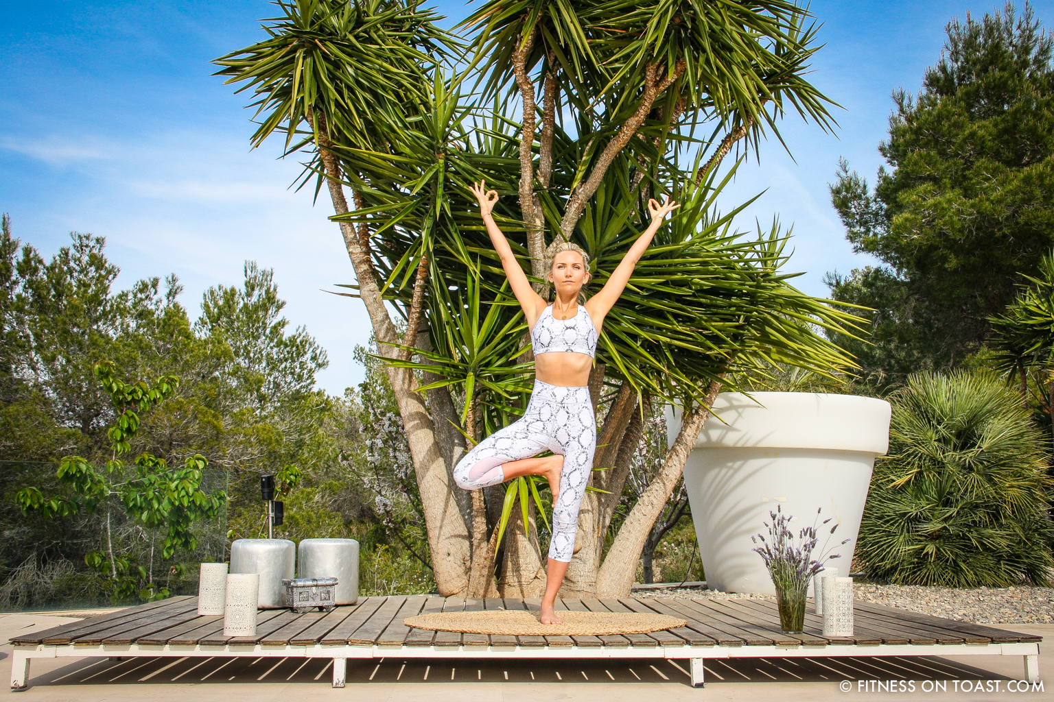 Fitness On Toast Faya Blog Girl Healthy Training Yoga Chakra Daisy Jewellery Routine Sun Holiday Travel Luxury Ibiza Villa Destination Spain Balearic Bootcamp-19