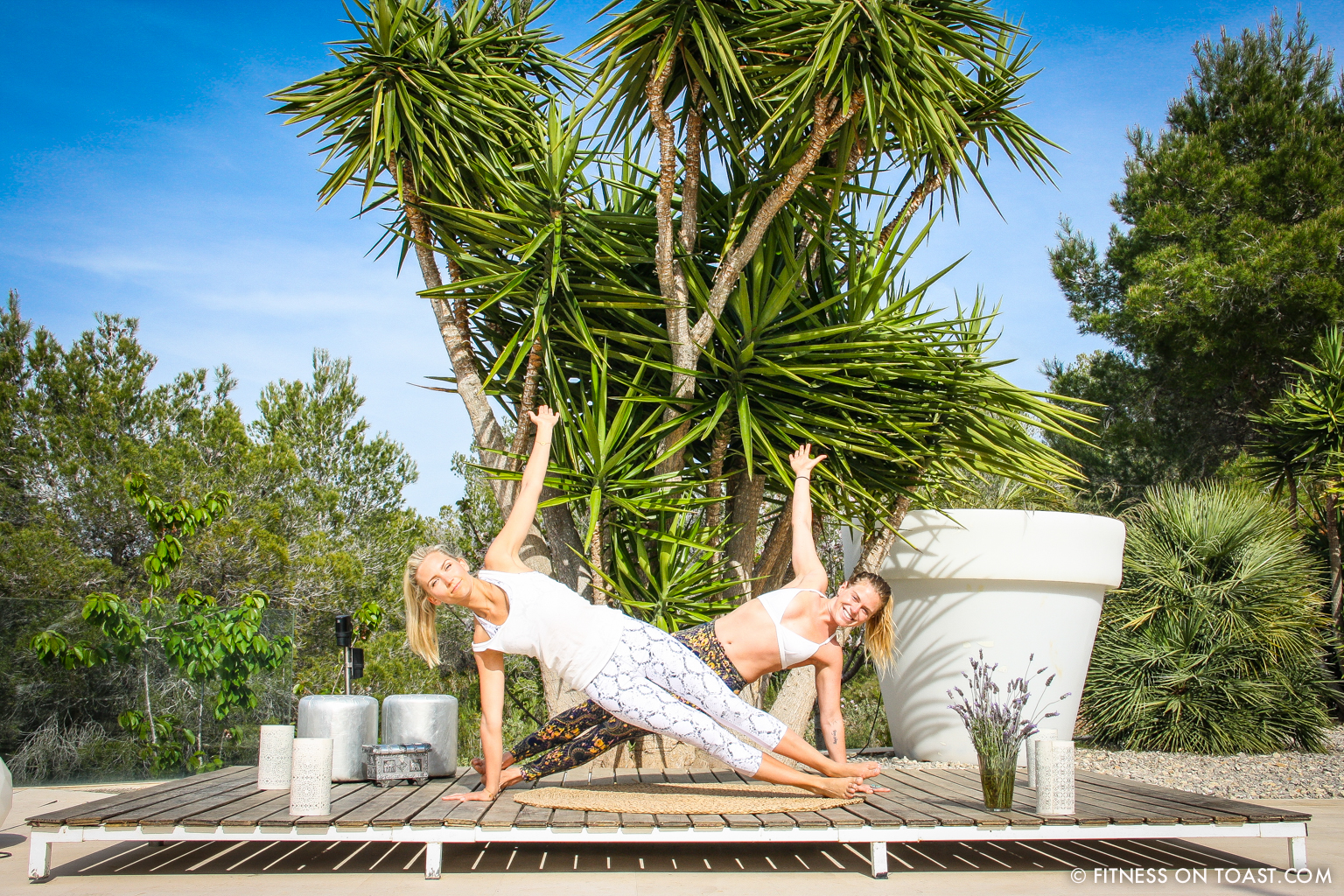 Fitness On Toast Faya Blog Girl Healthy Training Yoga Chakra Daisy Jewellery Routine Sun Holiday Travel Luxury Ibiza Villa Destination Spain Balearic Bootcamp-9