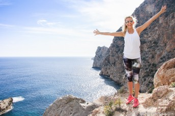 Fitness On Toast Faya Blog Girl London Travel Brita Water Fill Go Filter Sukishufu Varley Hip Healthy Ibiza Es Vedra Hike Fashion OOTD-3