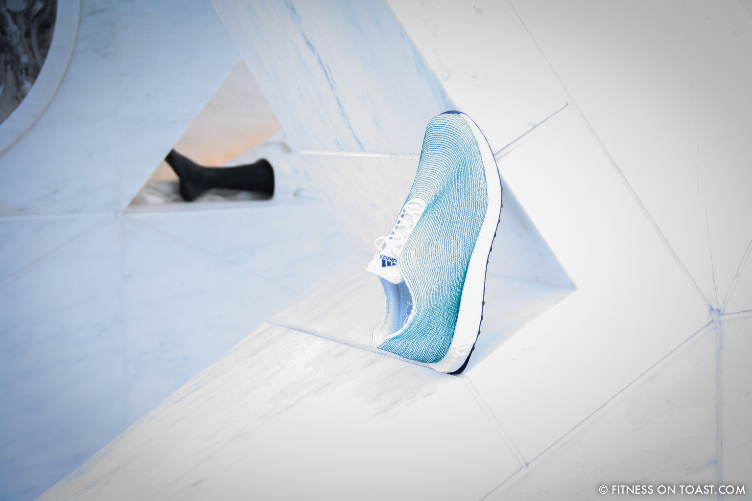 Fitness On Toast Faya Blog Healthy Girl Workout Exercise Adidas New York Parley for the Oceans UN Building Launch Shoe Recycled Ocean Plastic-2