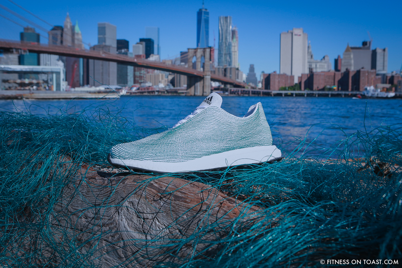 Fitness On Toast Faya Blog Healthy Girl Workout Exercise Adidas New York Parley for the Oceans UN Building Launch Shoe Recycled Ocean Plastic-8
