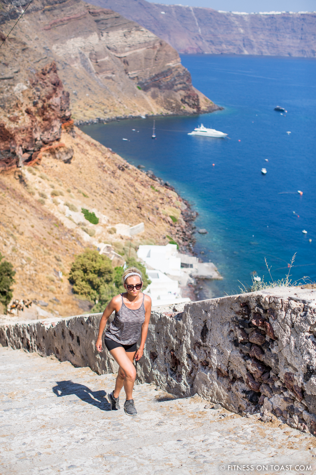 Fitness On Toast Faya healthy blog girl Katikies Hotel Travel Active Escape Luxury Holiday Fit Workout Health Retreat Detox Greece Santorini Tourism LHW-30