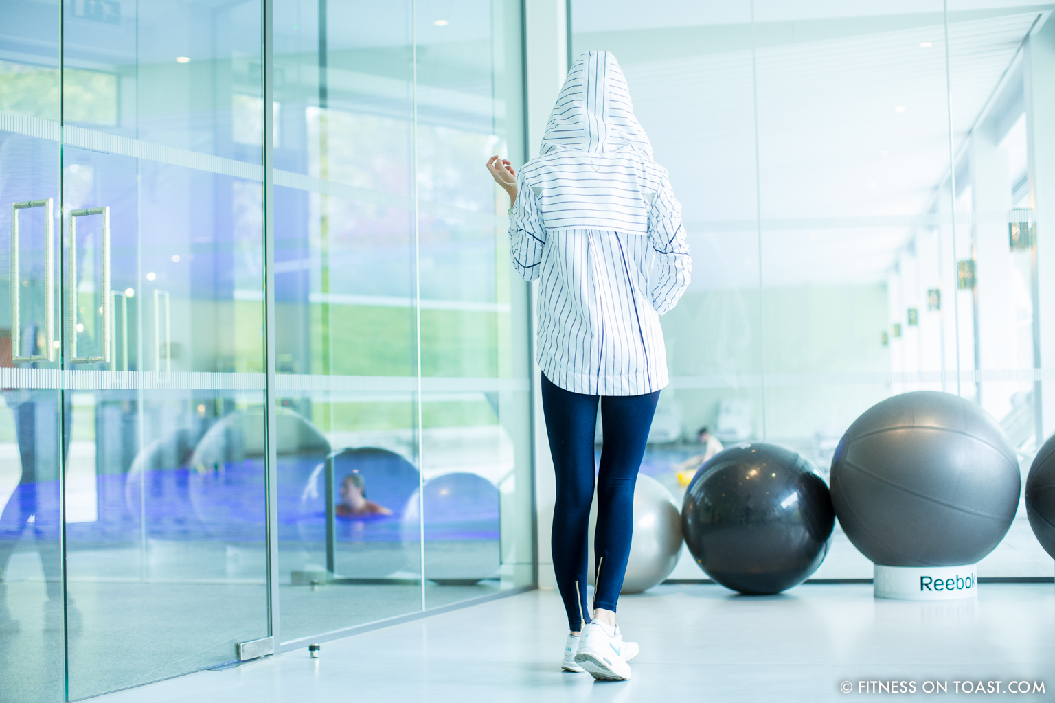 Fitness On Toast Faya Blog Girl Healthy Exercise Workout Gym Training Train Fashion OOTD Hey Jo Leggings Activewear Luxury Coworth Park Dorchester Hotel Lucas Hugh Hoodie-5
