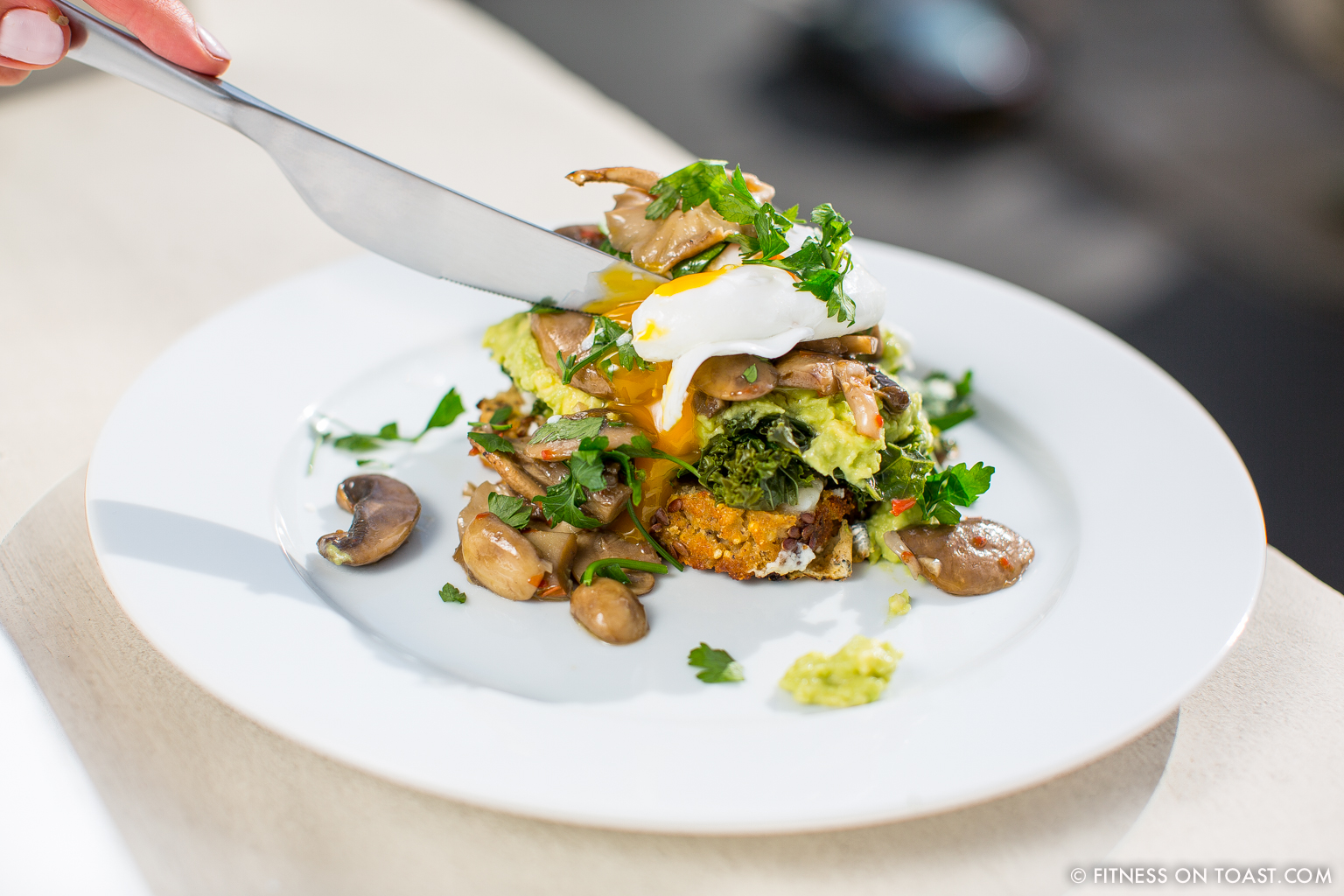Fitness On Toast Faya Healthy Eggs from the Forest Diet Food Recipe Tasty Egg-2