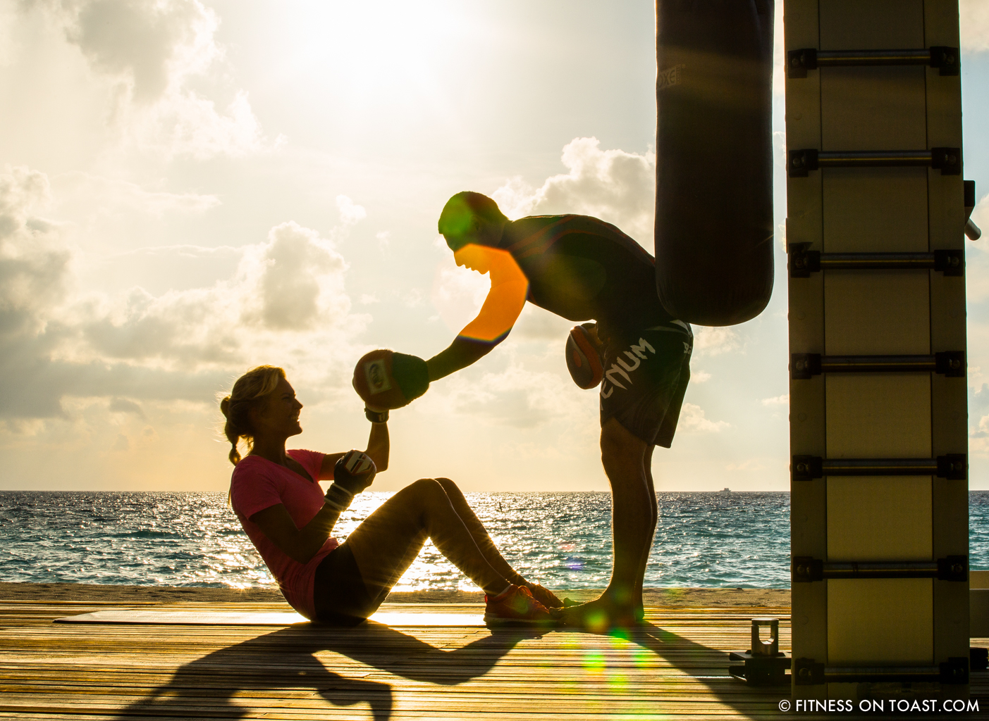 Fitness On Toast Faya Blog Girl healthy workout new year Reethi Rah One Only Luxury Maldives Travel Active Escape-23