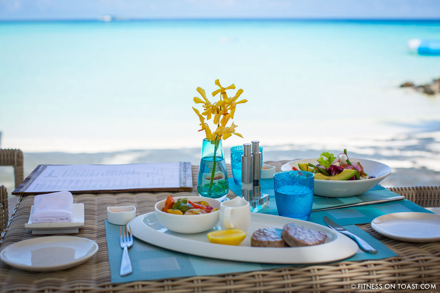 Fitness On Toast Faya Blog Girl healthy workout new year Reethi Rah One Only Luxury Maldives Travel Active Escape-26
