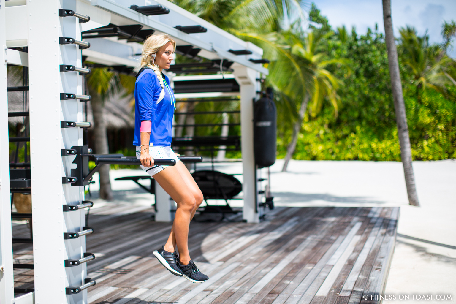 Fitness On Toast Faya Blog Girl healthy workout new year Reethi Rah One Only Luxury Maldives Travel Active Escape-31