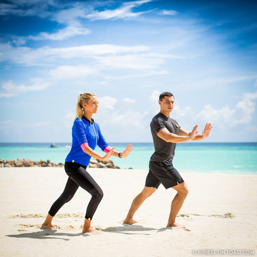 Fitness On Toast Faya Blog Girl healthy workout new year Reethi Rah One Only Luxury Maldives Travel Active Escape-45