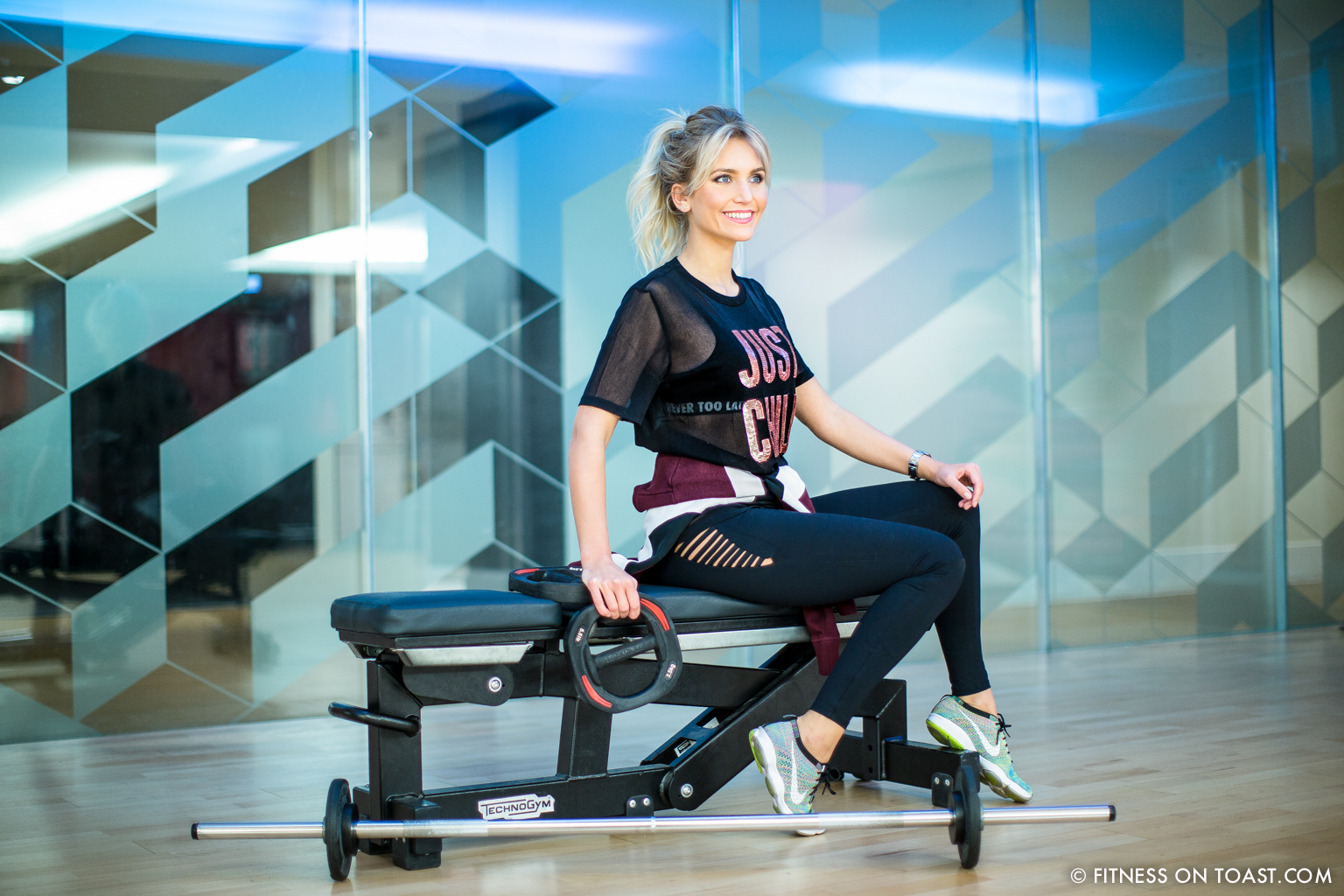 Fitness On Toast Faya Blog Girl Healthy Health Workout Arm Exercise Forever 21 Virgin Active Gym Training Fashion-21