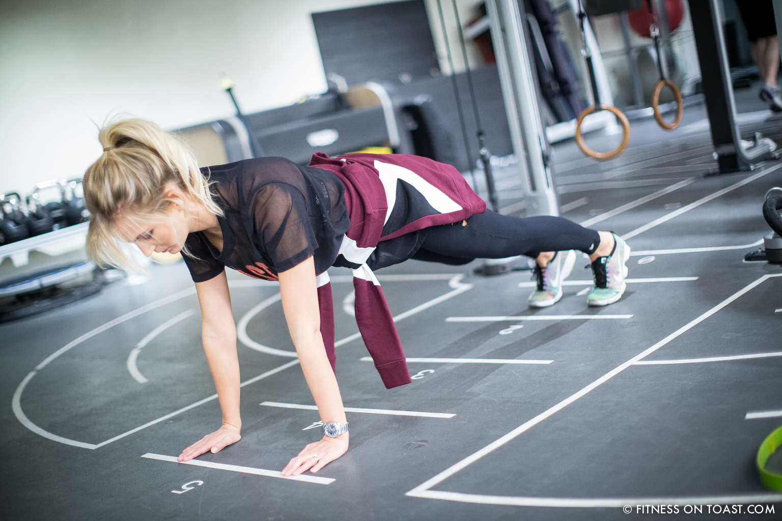 Fitness On Toast Faya Blog Girl Healthy Health Workout Arm Exercise Forever 21 Virgin Active Gym Training Fashion-5