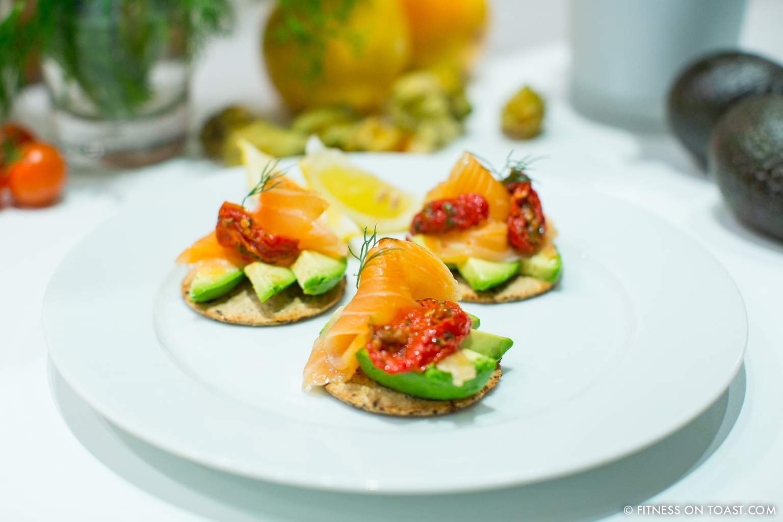 Healthy canape ideas fitness on toast for Canape suggestions