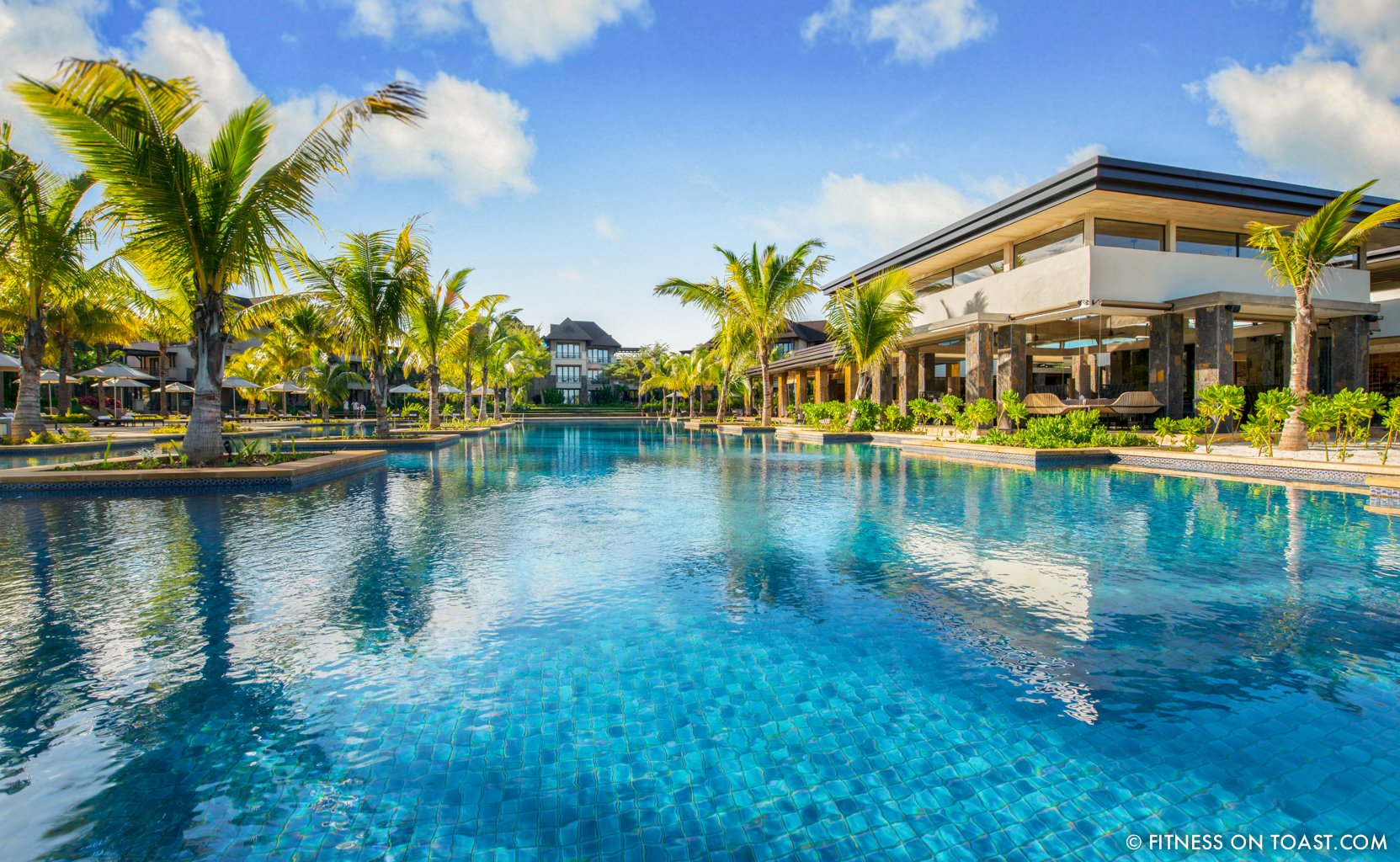 Fitness On Toast - Westin Mauritius Competition-2