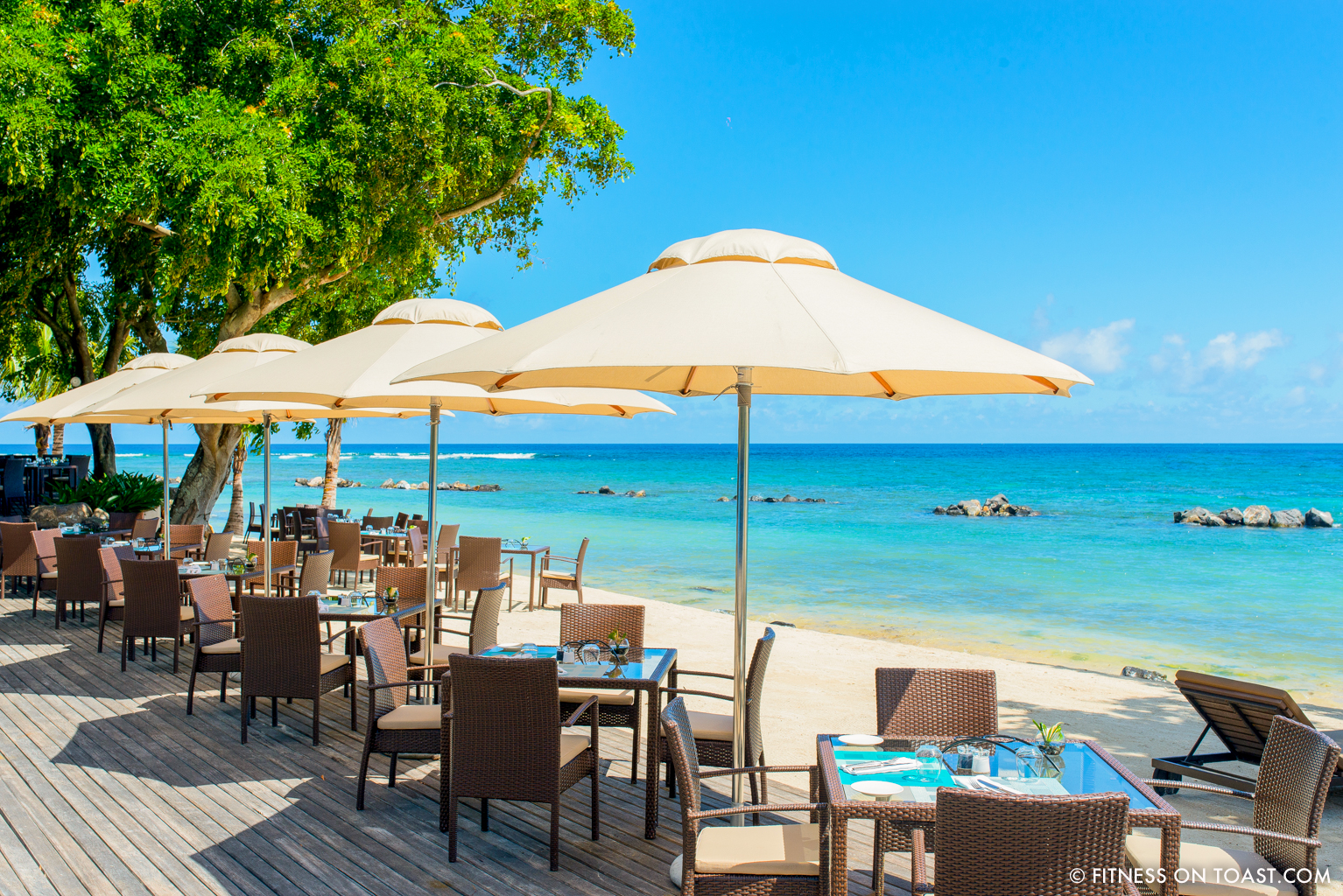 Fitness On Toast - Westin Mauritius Competition